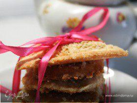 Домашнее ванильно-ореховое печенье