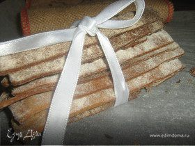 Хлебцы ржаные, постные