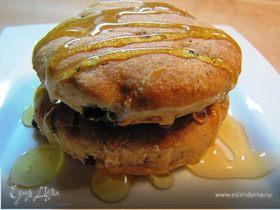 Печенье с черносливом, орехами и медом.