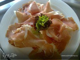 Дыня с ветчиной (Melone e Prosciutto)