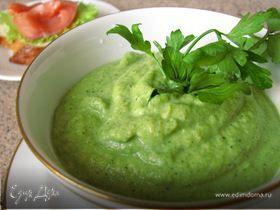 Суп-пюре из брокколи и моркови