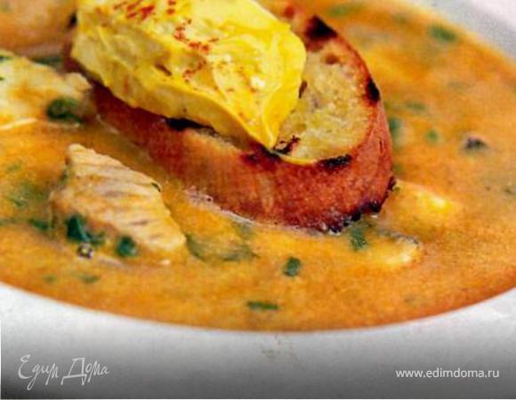 Суп-пюре с хеком