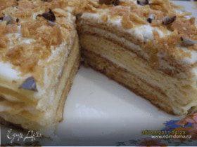 Вафельный тортик