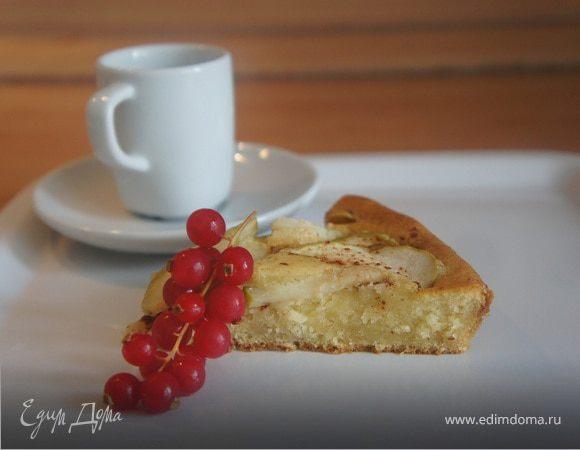 Яблочный пирог с маскарпоне