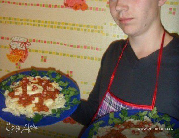 Гранатовая паста с чесноком и чили