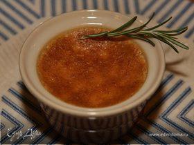 Лимонный крем-брюле с розмарином