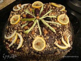 """Торт""""Лимонное наслаждение"""""""