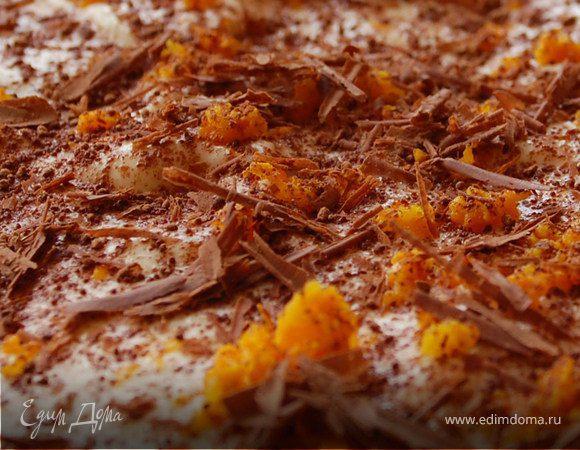 Шоколадно-апельсиновый тирамису