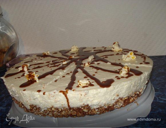 Тортик с попкорном