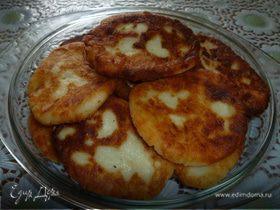 Творожники с картофелем