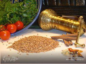 Гречка с луком по-берберски