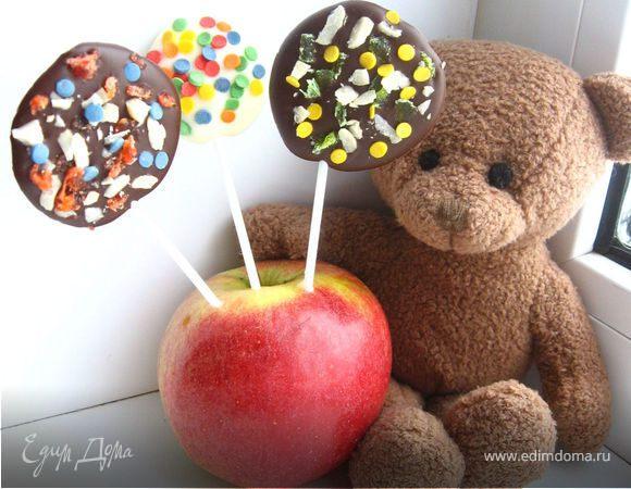 Шоколадные чупа-чупсы