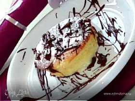 Марципановое суфле с шоколадом