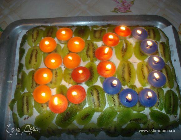 Торт на 80-летие