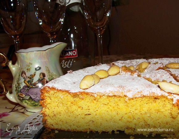 Gato de almendra(Майоркинский миндальный пирог)