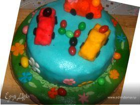 Веселый тортик для сынишки)))