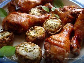 Куриные голяшки на решетке (с комплиментом)