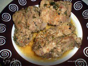 Мясо запеченое в фольге