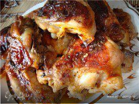 Жареная курица по-пионерски