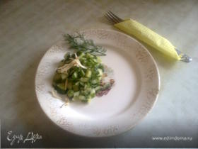 """""""Нелепый"""" (шутка) салат"""