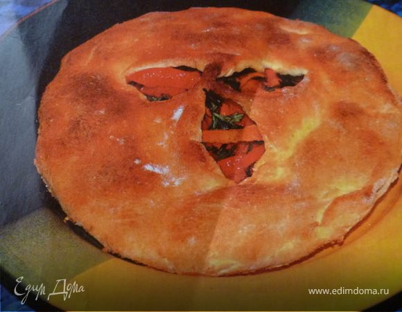 Овощной пирог по-болгарски