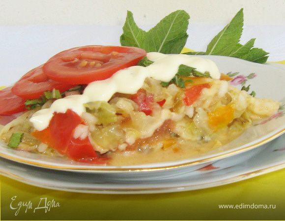 Овощи с сыром