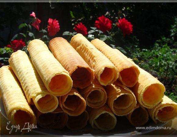 Вафельные трубочки