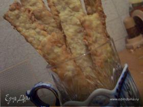 Овсяно - сырные палочки