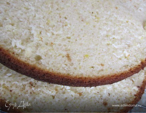 Ванильный шифоновый бисквит