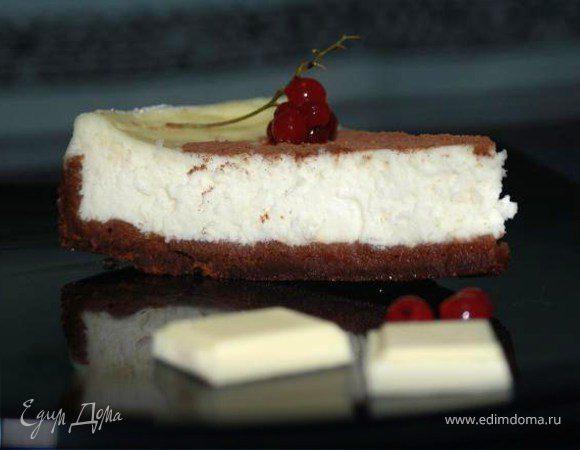 Чизкейк с белым шоколадом