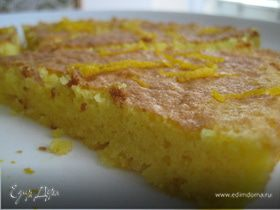 Апельсиново-миндальный бисквит