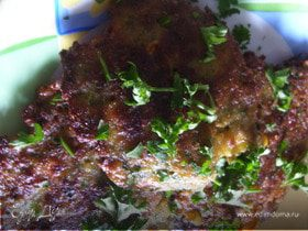 Тайские кукурузные лепешки