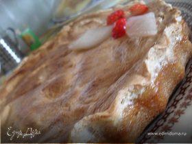 Пирог с дыней.