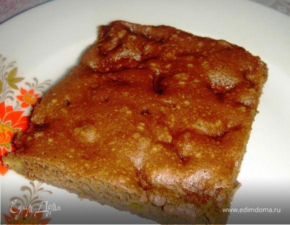 АбриШоковый бисквитный пирог