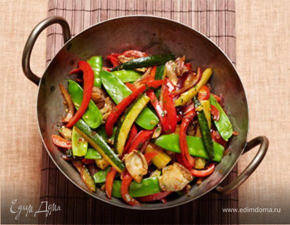 Овощи в тайском стиле