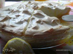 Лимонный пирог-меренга