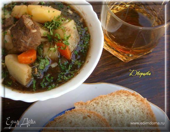 Ирландское рагу в пиве Гиннес