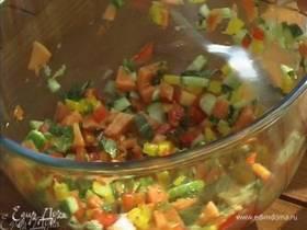 Салат с папайей