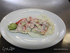 Салат из овощей по - испански