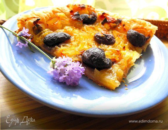 """Писсаладьер или """"пицца"""" из Ниццы"""