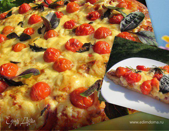 """Пицца """"Двойной сыр"""" или """"В субботу с утречка"""""""