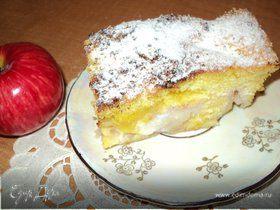 Пирог « Яблоки в перине».