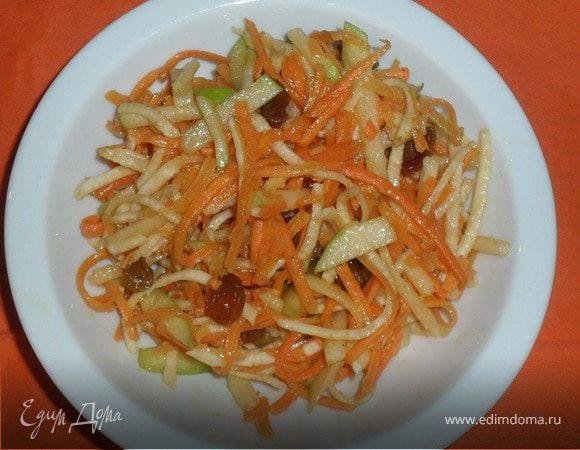 Сладкий овощной салат
