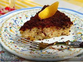 Сырное суфле с апельсином и шоколадом