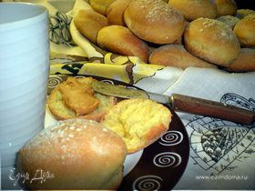 Английские булочки для бургеров