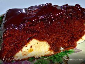Шоколадно-творожные сладости.