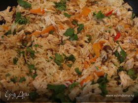 Рисовая каша по-китайски