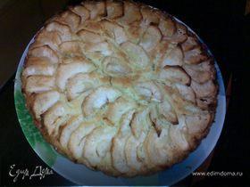 Яблочный торт (вкуснее шарлотки)