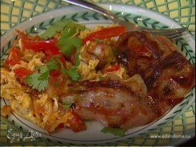 Piperade — баскский завтрак