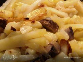 """""""Перекус"""" - картошка жареная с грибами"""